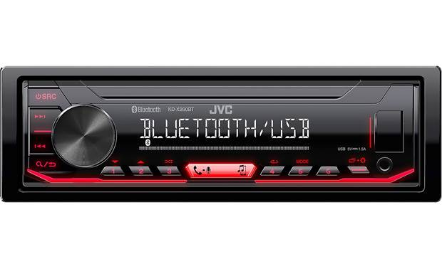 JVC KD-X260BT Add hands-free calling and audio streaming to your drive