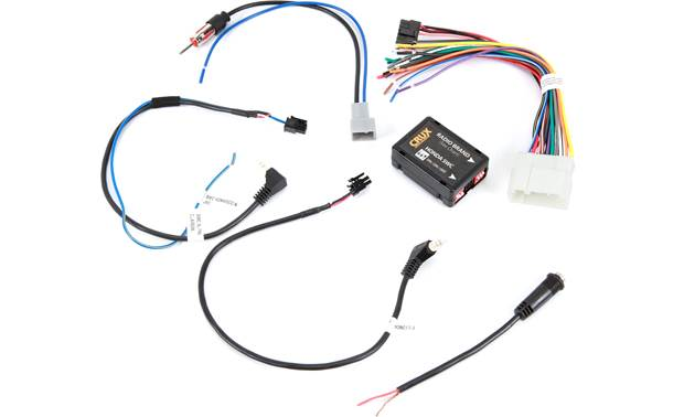 Crux SWRHN-62D Wiring Interface Front