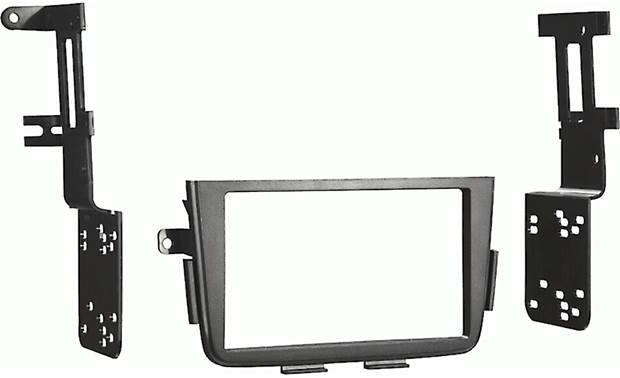 Metra 95-7866B Dash Kit Kit (matte black)