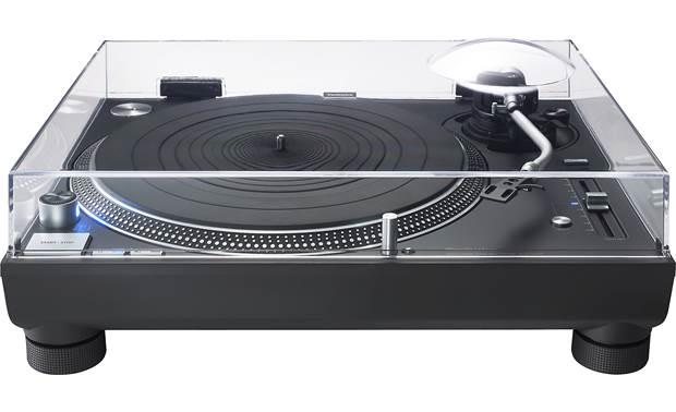 Technics SL-1210GR Shown with dust cover down