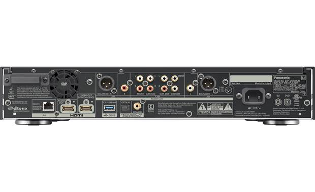 Panasonic DP-UB9000 Back