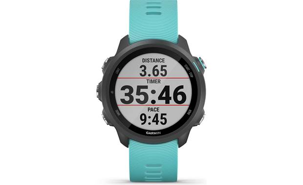 Garmin Forerunner 245 Music Customizable display fields.