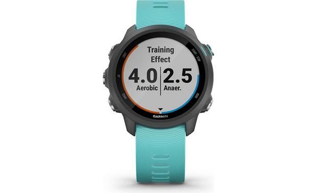 Garmin Forerunner 245 Music Training effect