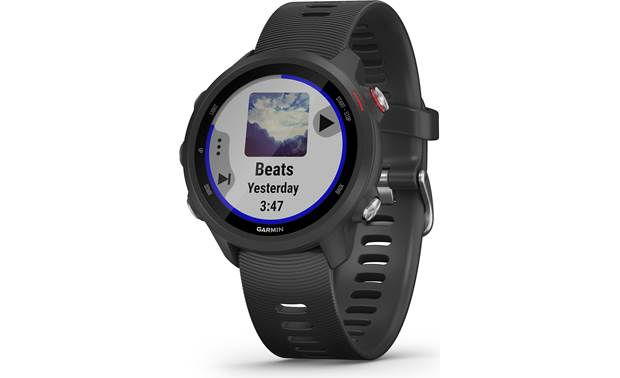 Garmin Forerunner 245 Music Forerunner 245 Music has a built-in music player
