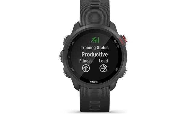 Garmin Forerunner 245 Music Training status