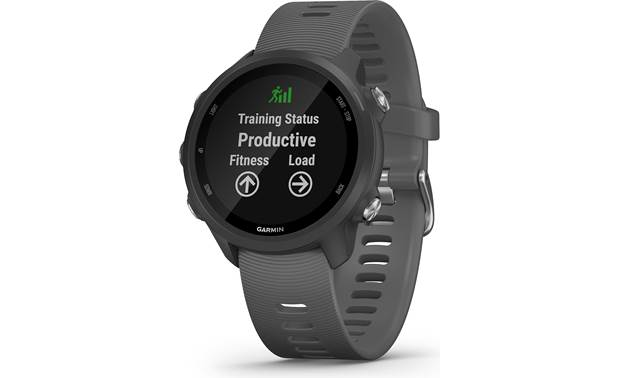 Garmin Forerunner 245 Garmin's Forerunner 245 tracks your training load