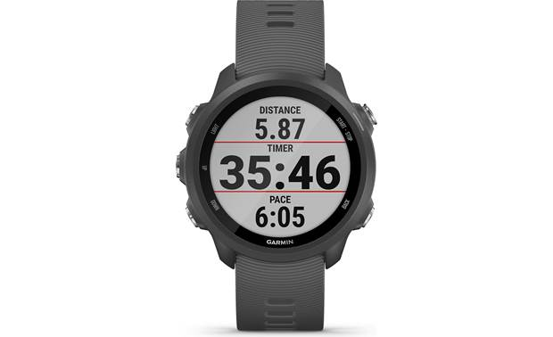 Garmin Forerunner 245 Customizable display fields