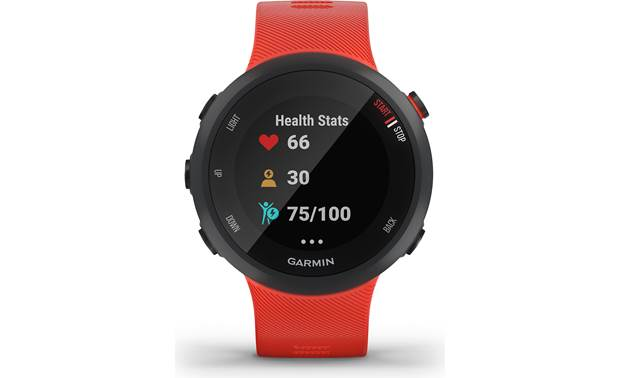 Garmin Forerunner 45 Health tracking