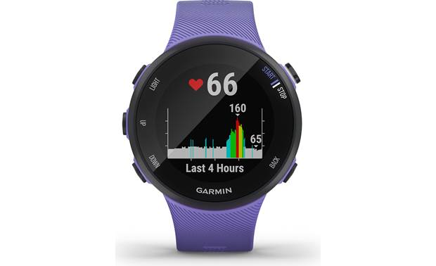 Garmin Forerunner 45 Heart rate tracking