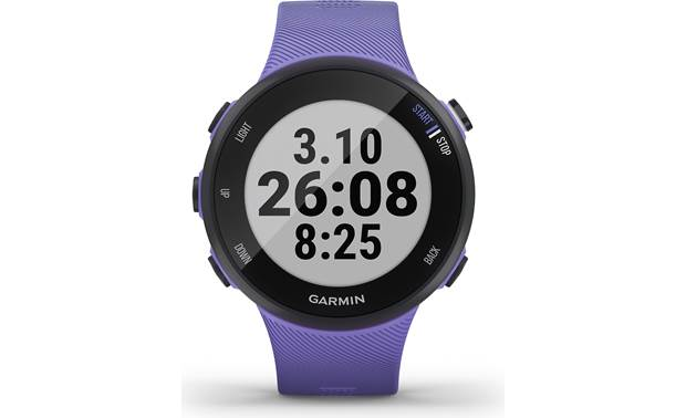 Garmin Forerunner 45 Customizable display fields