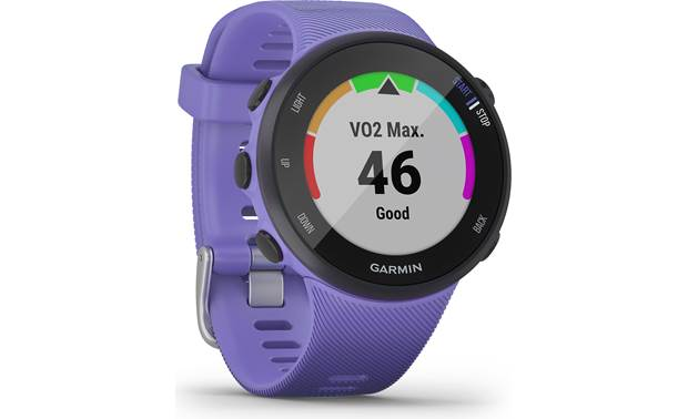 Garmin Forerunner 45 VO2 Max estimation