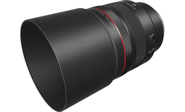 Canon RF 85mm f/1.2 L USM Shown with included lens hood