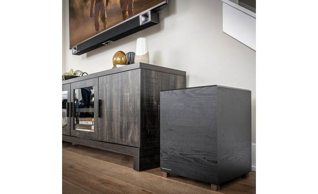 Klipsch Bar 48 Sub is wireless for flexible placement