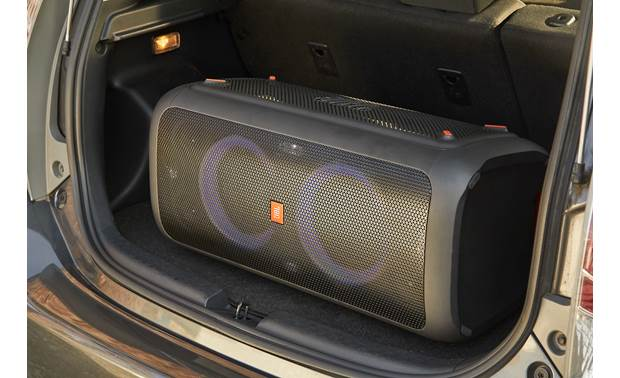 JBL PartyBox 300 Sits vertically or horizontally
