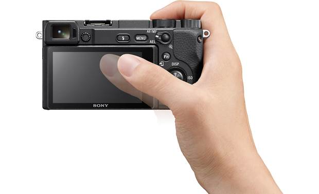 Sony Alpha a6400 (no lens included) Touch the LCD screen to focus, even with your eye to the viewfinder