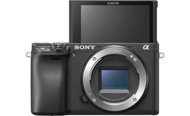 Sony Alpha a6400 (no lens included) Touchscreen tilts up to 180° to face you