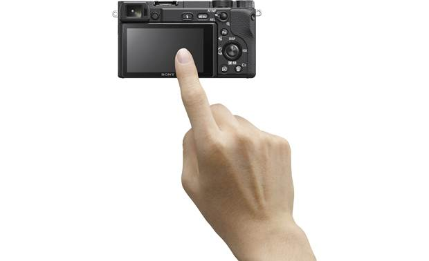 Sony Alpha a6400 Kit Touch the LCD screen to focus, even with your eye to the viewfinder