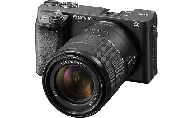 Sony Alpha a6400 Telephoto Lens Kit Front