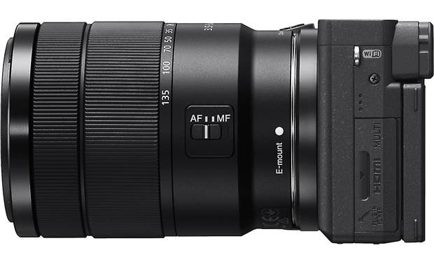 Sony Alpha a6400 Telephoto Lens Kit Right side view