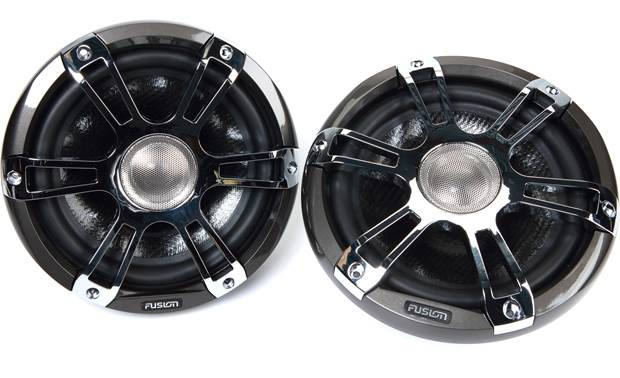 Fusion SG-FL88SP marine speakers with LED lights