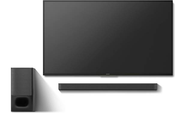 Sony HT-S350 Space-saving, wall-mountable design