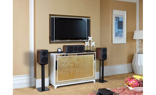 Wharfedale D300C Shown as part of a Wharfedale home theater system