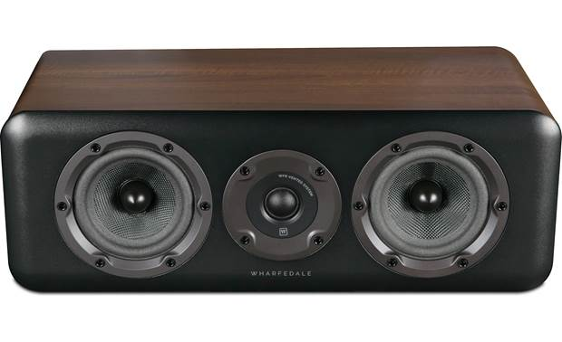 Wharfedale D300C Direct view with grilles removed