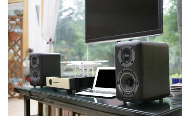 Wharfedale D310 Shown as part of a stereo music system