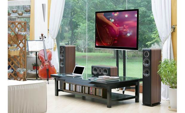Wharfedale D330 Shown as part of a Wharfedale home theater system