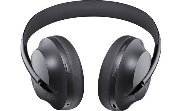 Bose Noise Cancelling Headphones 700 Tactile on-ear buttons for voice assistant (Amazon Alexa or Google Assistant) and toggling through levels of noise cancellation