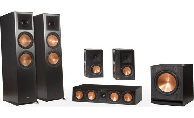 Klipsch RP-8060FA 5.1.2 Dolby Atmos® Home Theater Speaker System All the speakers you need for a killer surround sound experience