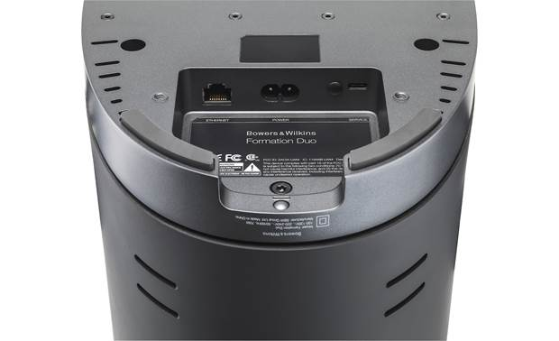 Bowers & Wilkins Formation Duo Black - connections detail