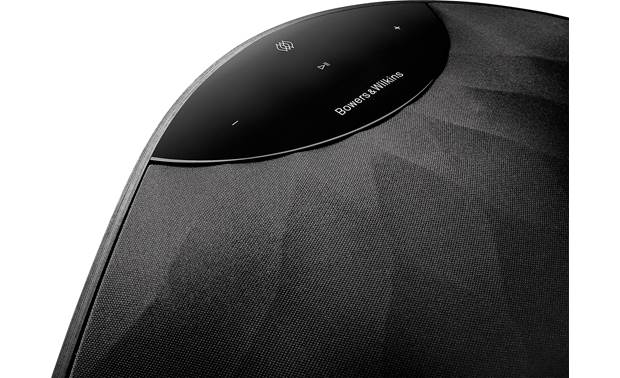 Bowers & Wilkins Formation Wedge Black - top-mounted control buttons