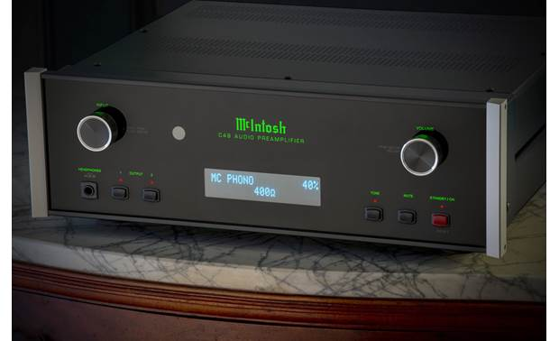 McIntosh C49 Variable loading for moving magnet and moving coil phono cartridges