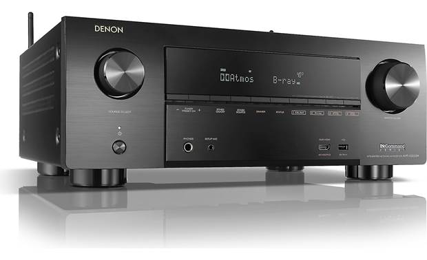 Denon AVR-X3600H (2019 model) Angled front view