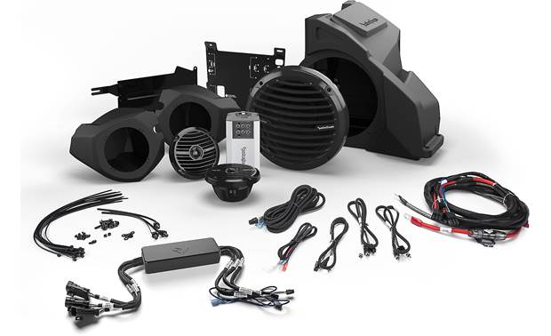 Rockford Fosgate RZR14RC-STAGE3 Front