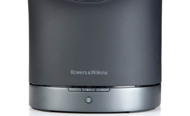 Bowers & Wilkins Formation Duo Black - front-mounted control buttons