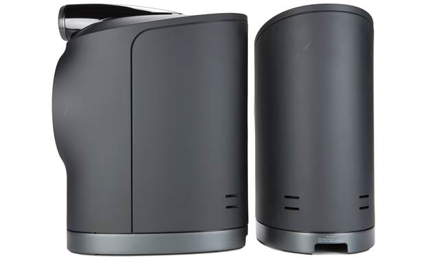 Bowers & Wilkins Formation Duo Black - side and back views