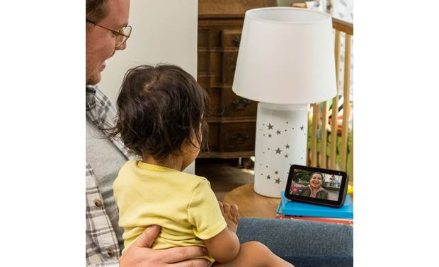 Amazon Echo Show 5 Charcoal - video chat via Skype or through other Echo screen devices