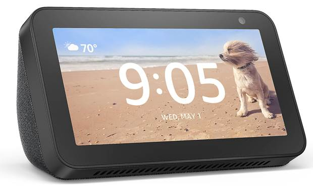Amazon Echo Show 5 Charcoal - left front