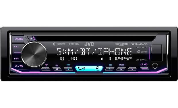 JVC KD-T900BTS Play music from your smartphone and sculpt your sound with immersive tone controls
