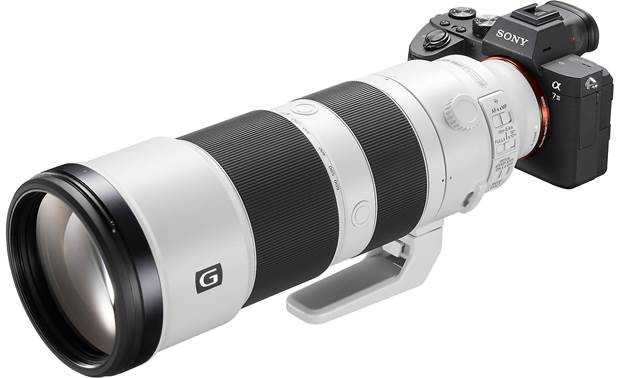 Sony FE 200-600mm f/5.6-6.3 G OSS Shown mounted on Sony camera (not included)