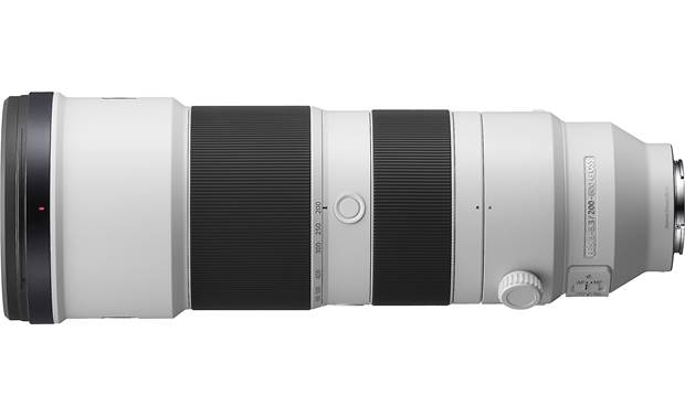 Sony FE 200-600mm f/5.6-6.3 G OSS Shown with tripod mount removed