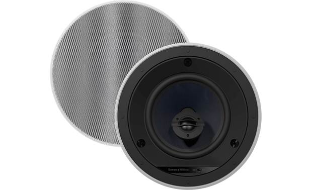 Bowers & Wilkins Performance Series CCM663 Shown with one grille removed