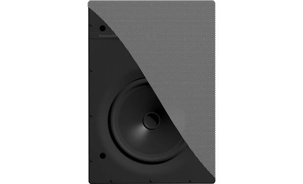 Bowers & Wilkins Flexible Series CWM362 Cutaway view of the paintable, magnetic grille