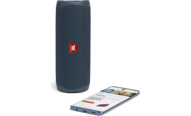 JBL Flip 5 Blue - stream wirelessly via Bluetooth (smartphone not included)