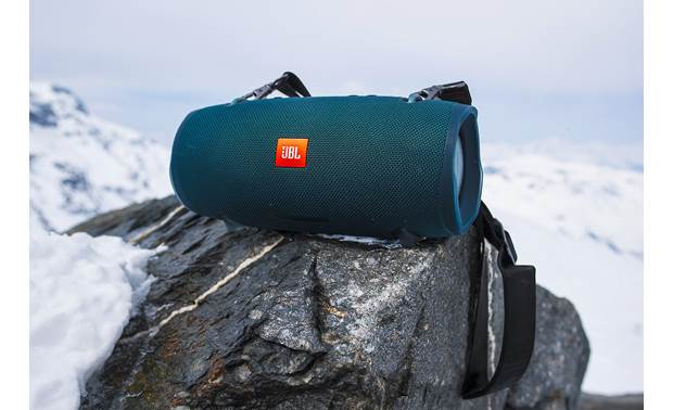 JBL Flip 5 Blue - use in snow, sand, or water