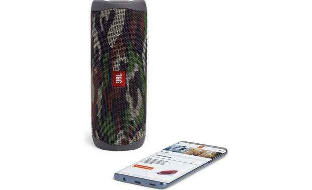JBL Flip 5 Squad - srteam wirelessly via Bluetooth (smartphone not included)