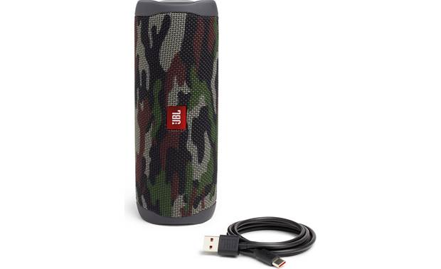 JBL Flip 5 Squad - with included USB charging cable