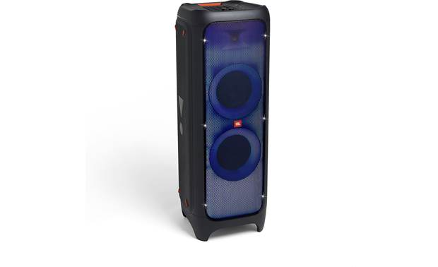 JBL PartyBox 1000 Blue/violet color display